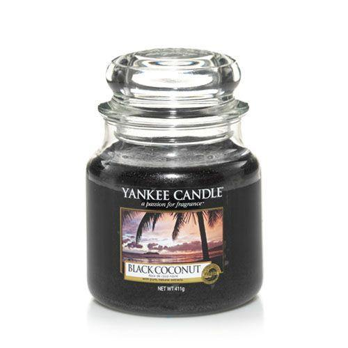 Yankee Candle Black Coconut Medium Jar - TOSYS Candles and Gifts
