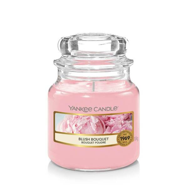 Yankee Candle Blush Bouquet Small Jar - TOSYS Candles and Gifts