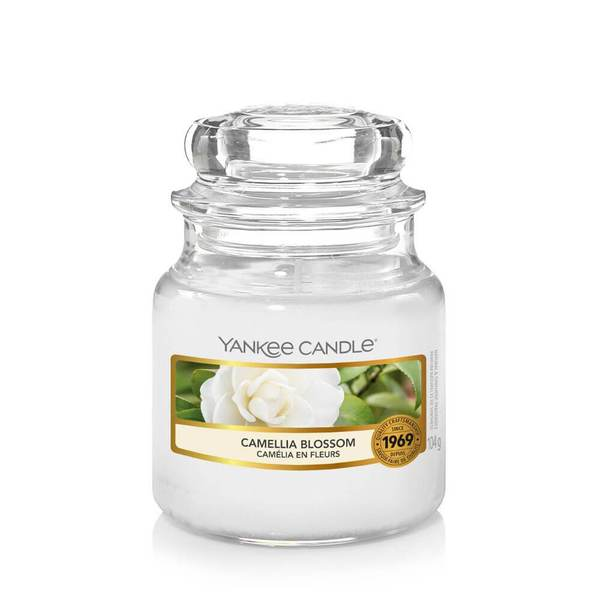 Yankee Candle Camellia Blossom Small Jar - TOSYS Candles and Gifts