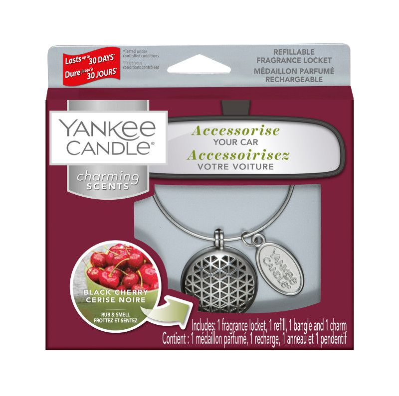 Yankee Candle Charming Scents Geometric Starter Kit Black Cherry - TOSYS Candles and Gifts