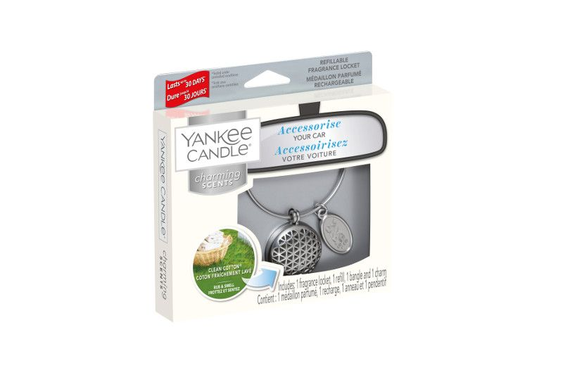 Yankee Candle Charming Scents Geometric Starter Kit Clean Cotton - TOSYS Candles and Gifts