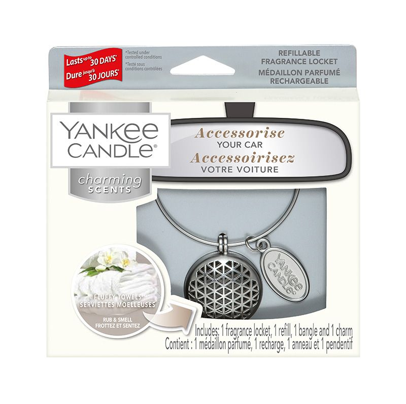 Yankee Candle Charming Scents Geometric Starter Kit Fluffy Towels - TOSYS Candles and Gifts