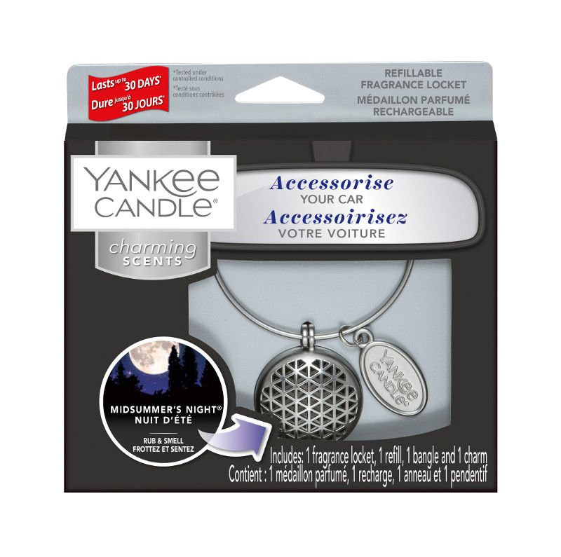Yankee Candle Charming Scents Geometric Starter Kit Midsummers Night - TOSYS Candles and Gifts