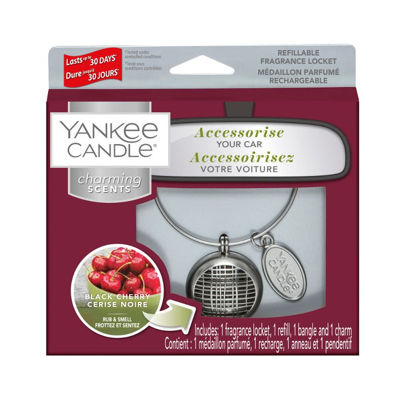 Yankee Candle Charming Scents Linear Starter Kit Black Cherry - TOSYS Candles and Gifts