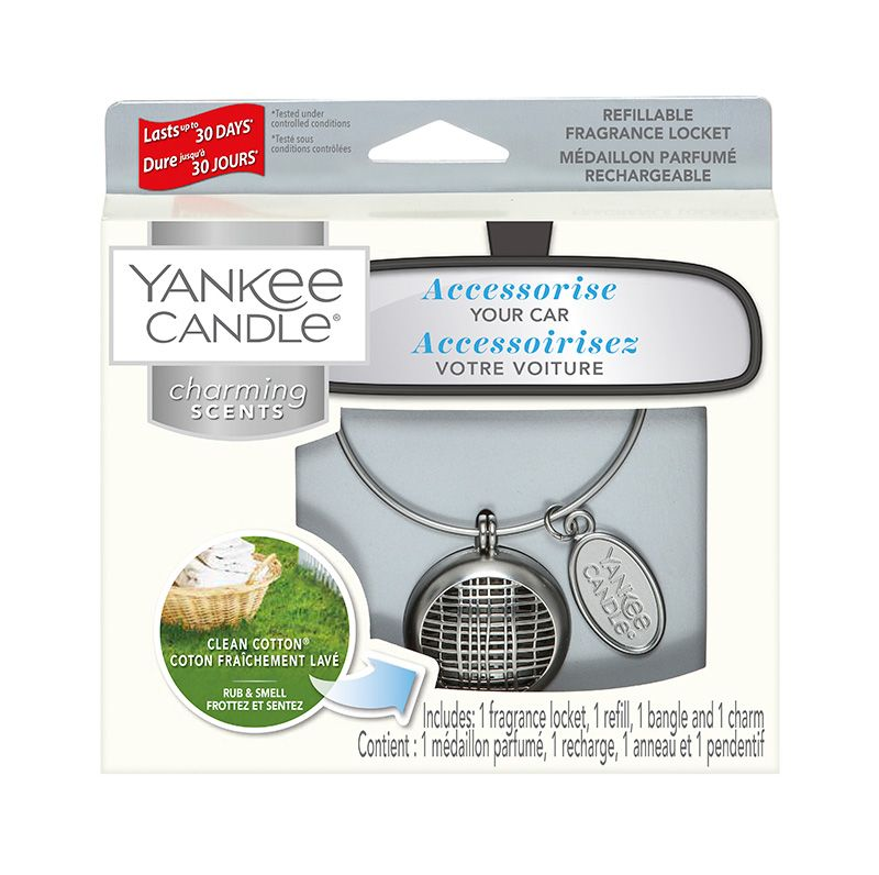 Yankee Candle Charming Scents Linear Starter Kit Clean Cotton - TOSYS Candles and Gifts