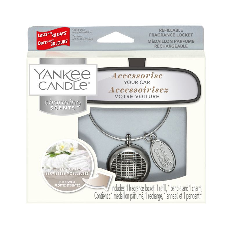 Yankee Candle Charming Scents Linear Starter Kit Fluffy Towels - TOSYS Candles and Gifts