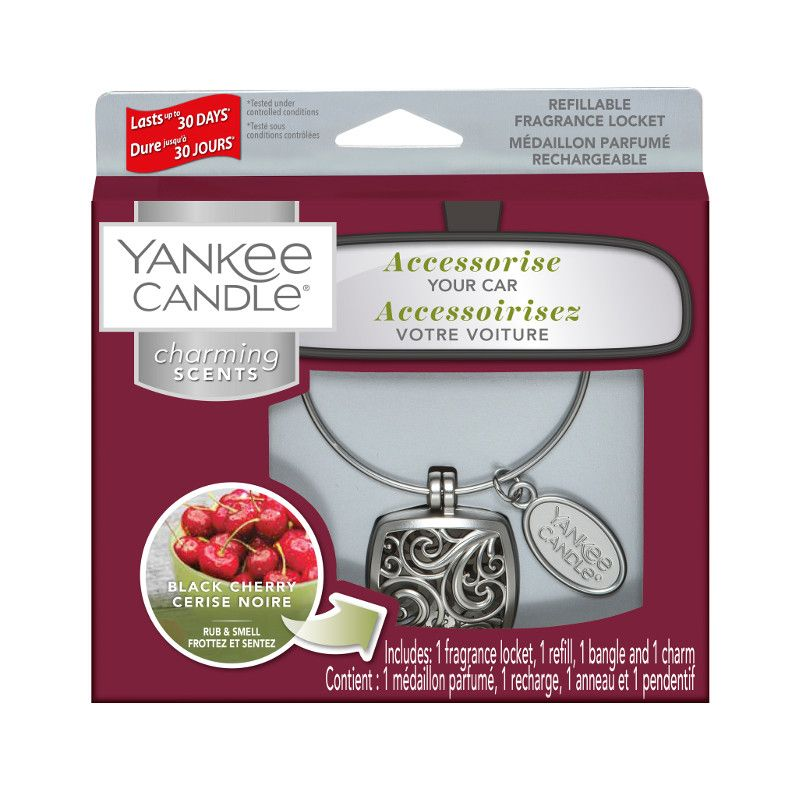 Yankee Candle Charming Scents Square Starter Kit Black Cherry - TOSYS Candles and Gifts