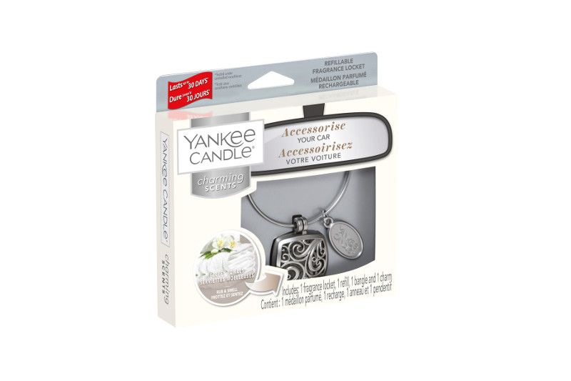 Yankee Candle Charming Scents Square Starter Kit Fluffy Towels - TOSYS Candles and Gifts