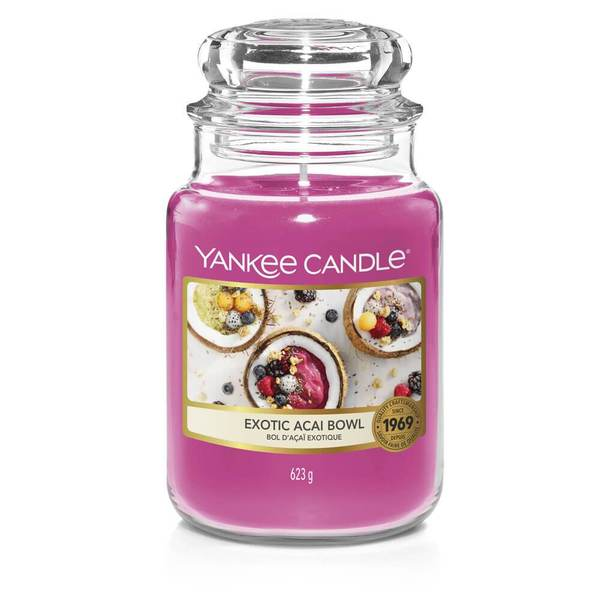 Exotic Acai Bowl Large Jar - TOSYS Candles and Gifts