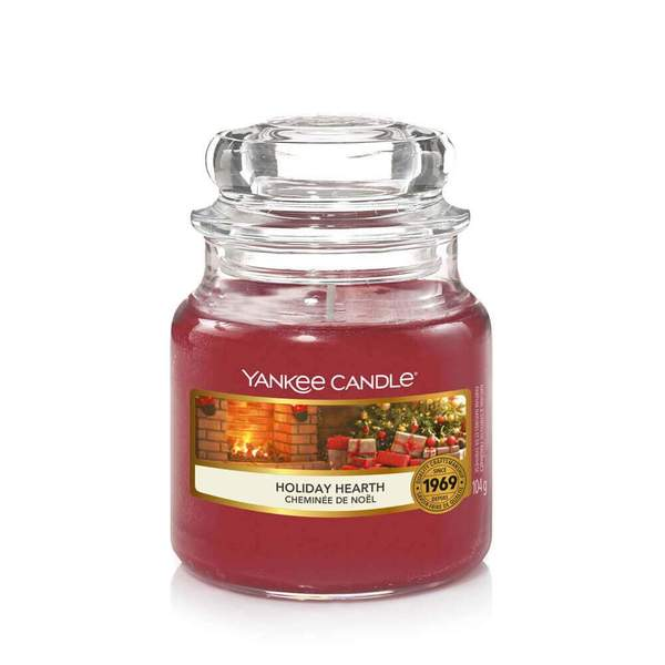 Yankee Candle Holiday Hearth Small Jar - TOSYS Candles and Gifts