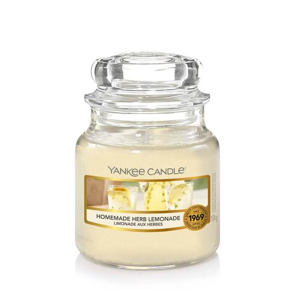 Yankee Candle Homemade Herb Lemonade Small Jar - TOSYS Candles and Gifts