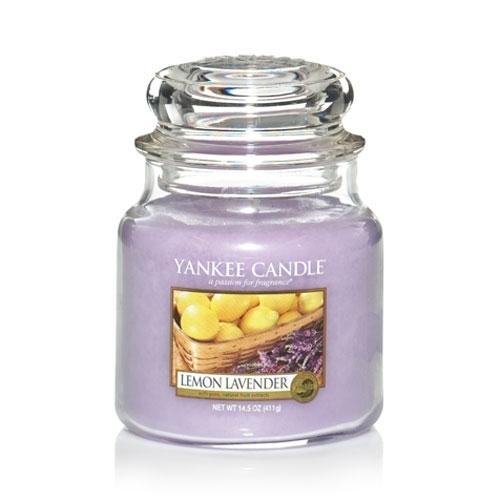 Yankee Candle Lemon Lavender Medium Jar - TOSYS Candles and Gifts