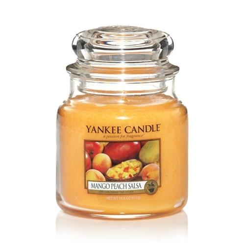 Yankee Candle Mango Peach Salsa Medium Jar - TOSYS Candles and Gifts