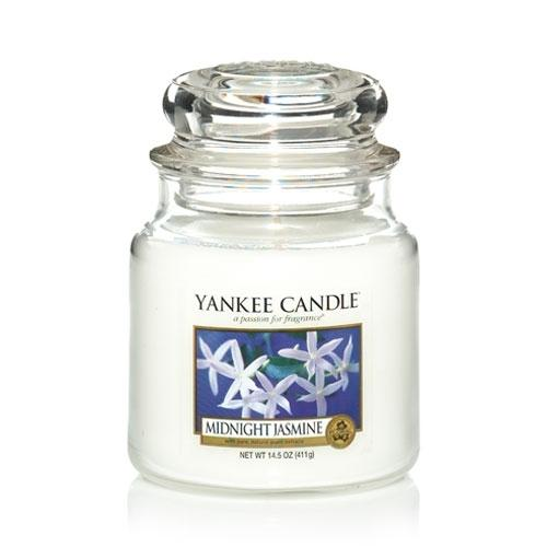 Yankee Candle Midnight Jasmine Medium Jar - TOSYS Candles and Gifts