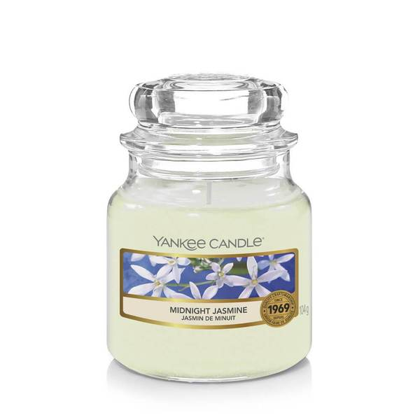 Yankee Candle Midnight Jasmine Small Jar - TOSYS Candles and Gifts