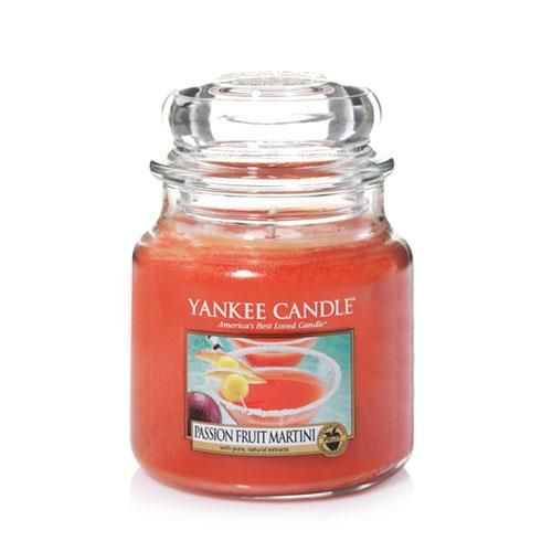 Yankee Candle Passion Fruit Martini Medium Jar - TOSYS Candles and Gifts