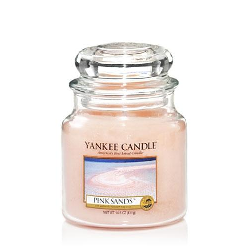Yankee Candle Pink Sands Medium Jar - TOSYS Candles and Gifts