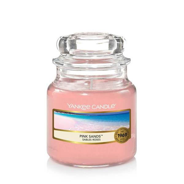 Yankee Candle Pink Sands Small Jar - TOSYS Candles and Gifts