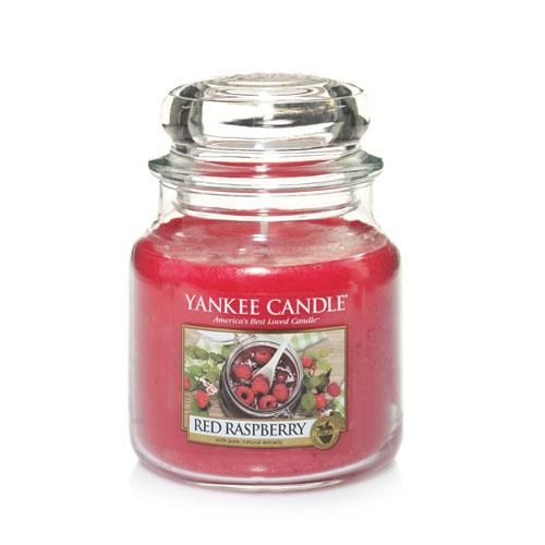 Yankee Candle Red Raspberry Medium Jar - TOSYS Candles and Gifts