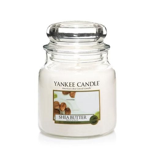 Yankee Candle Shea Butter Medium Jar - TOSYS Candles and Gifts