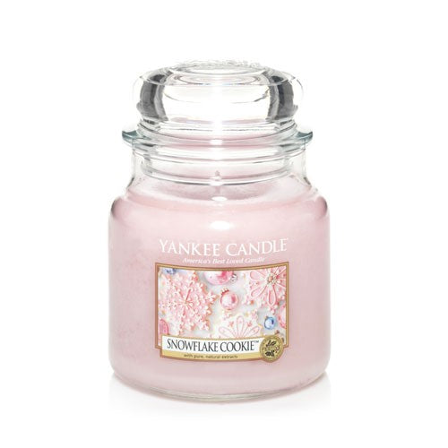 Yankee Candle Snowflake Cookie Medium Jar - TOSYS Candles and Gifts
