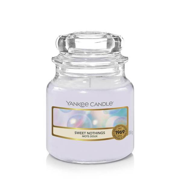 Yankee Candle Sweet Nothings Small Jar - TOSYS Candles and Gifts