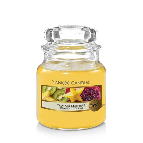 Yankee Candle Tropical Starfruit Small Jar - TOSYS Candles and Gifts