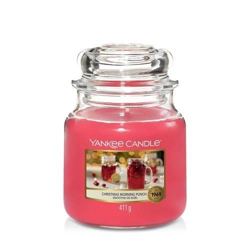 Yankee Candle Christmas Morning Punch Medium Jar - TOSYS Candles and Gifts