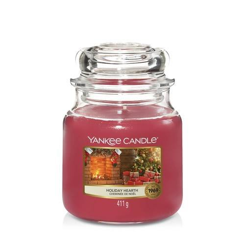 Yankee Candle Holiday Hearth Medium Jar - TOSYS Candles and Gifts