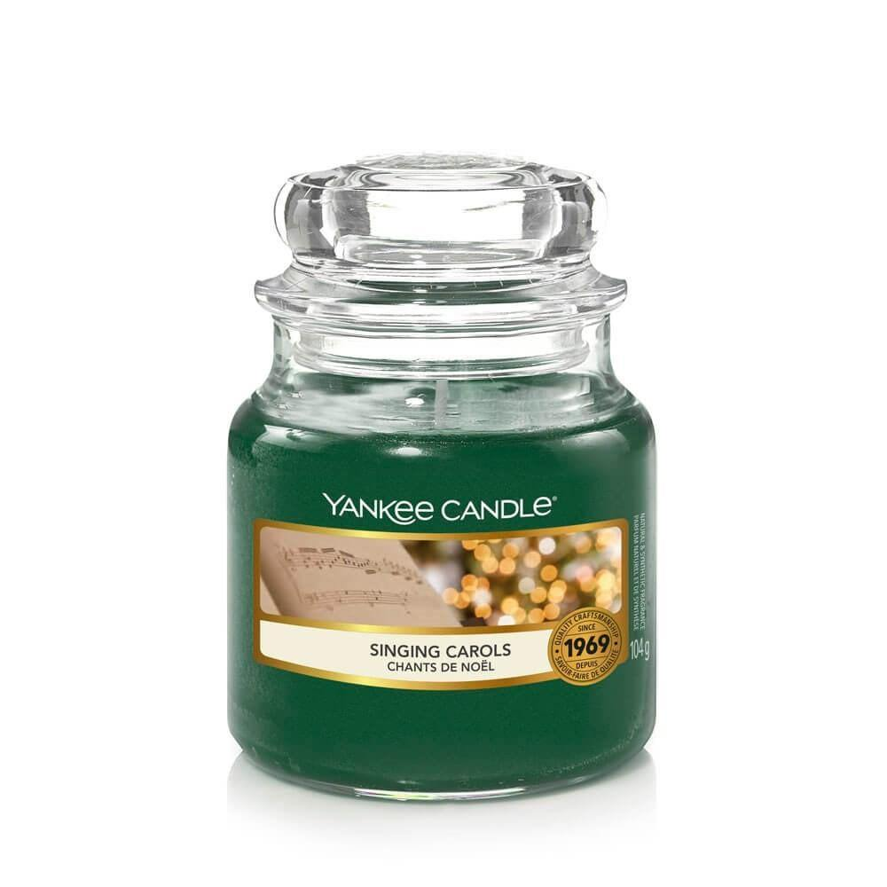 Yankee Candle Singing Carols Small Jar - TOSYS Candles and Gifts