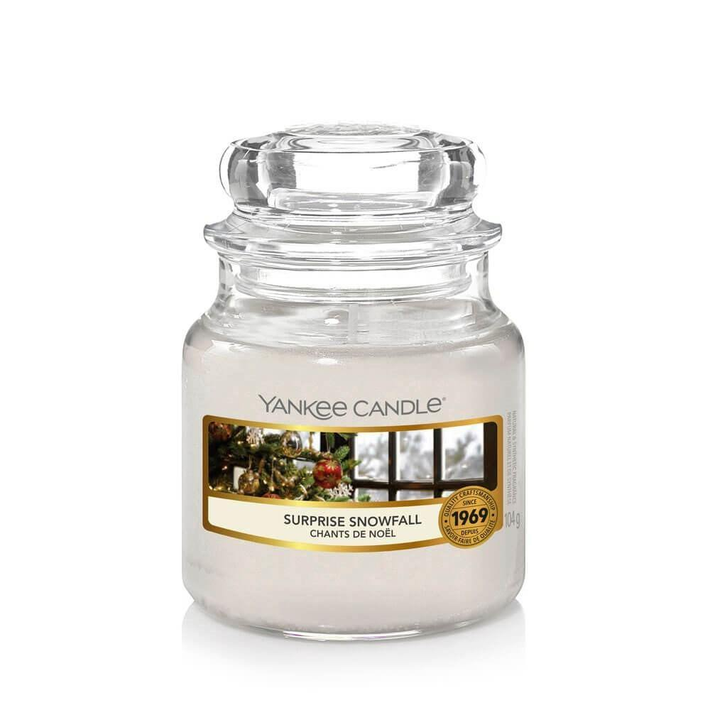 Yankee Candle Surprise Snowfall Small Jar - TOSYS Candles and Gifts