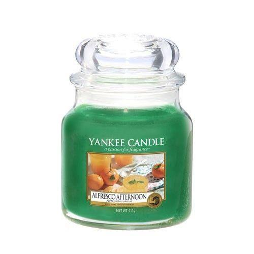 Yankee Candle Alfresco Afternoon Medium Jar - TOSYS Candles and Gifts