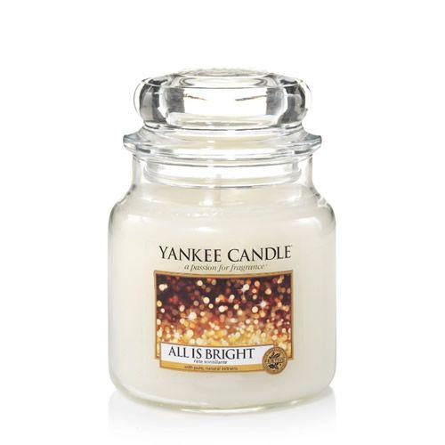 Yankee Candle All is Bright Medium Jar - TOSYS Candles and Gifts