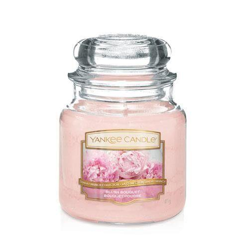 Yankee Candle Blush Bouquet Medium Jar - TOSYS Candles and Gifts