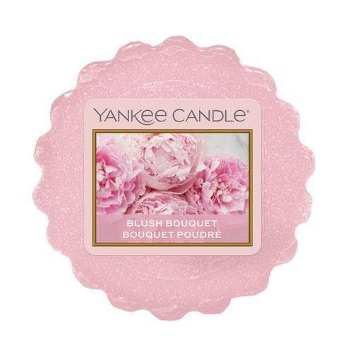6 Pack Yankee Candle Blush Bouquet Wax Melts - TOSYS Candles and Gifts