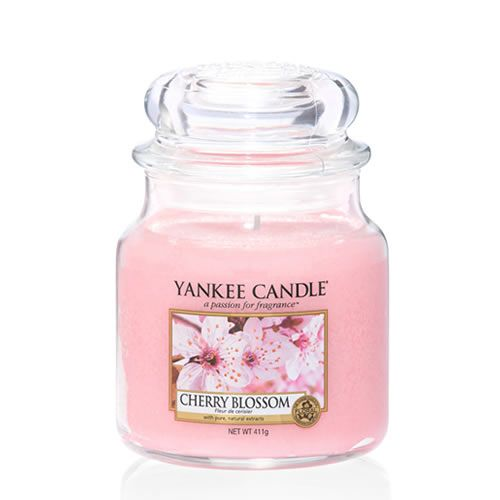Yankee Candle Cherry Blossom Medium Jar - TOSYS Candles and Gifts