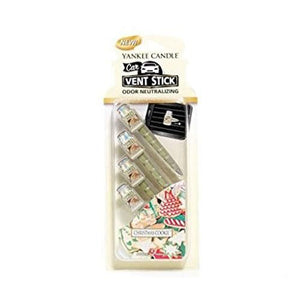 Yankee Candle Christmas Cookie Car Vent Sticks