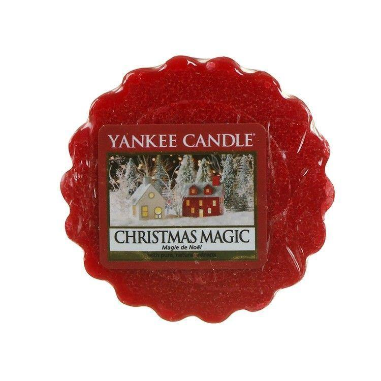 6 Pack Yankee Candle Christmas Magic Wax Melts - TOSYS Candles and Gifts
