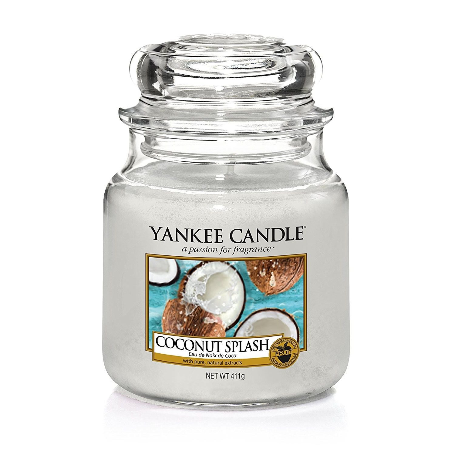 Yankee Candle Coconut Splash Medium Jar - TOSYS Candles and Gifts