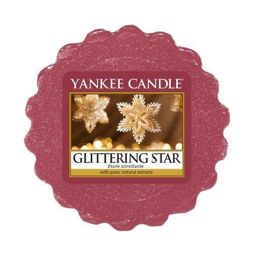 6 Pack Yankee Candle Glittering Star Wax Melts - TOSYS Candles and Gifts