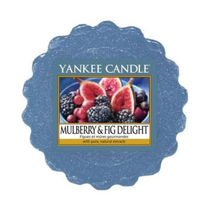 Yankee Candle Mulberry and Fig Delight Wax Melt
