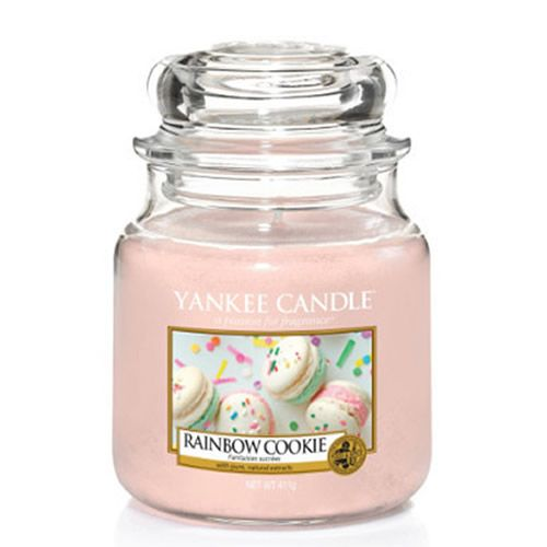 Yankee Candle Rainbow Cookie Medium Jar - TOSYS Candles and Gifts