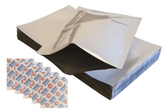 Mylar Foil Bags and O2 Absorbers
