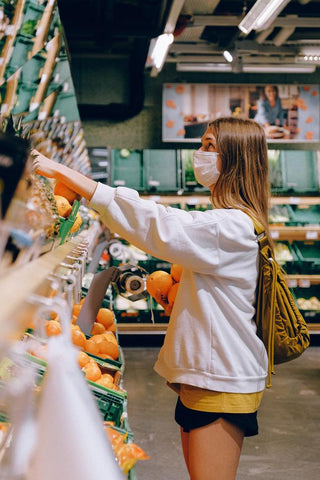 Why you should wear face masks at the grocery store