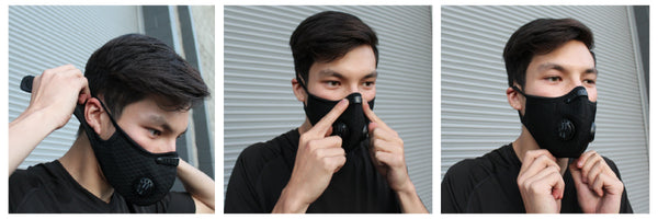 how to wear sports mask