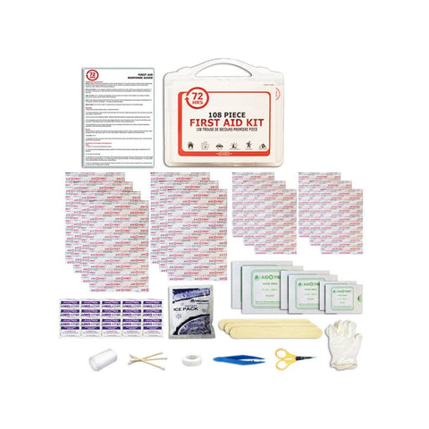 108pcs First Aid Kit - 72HRS