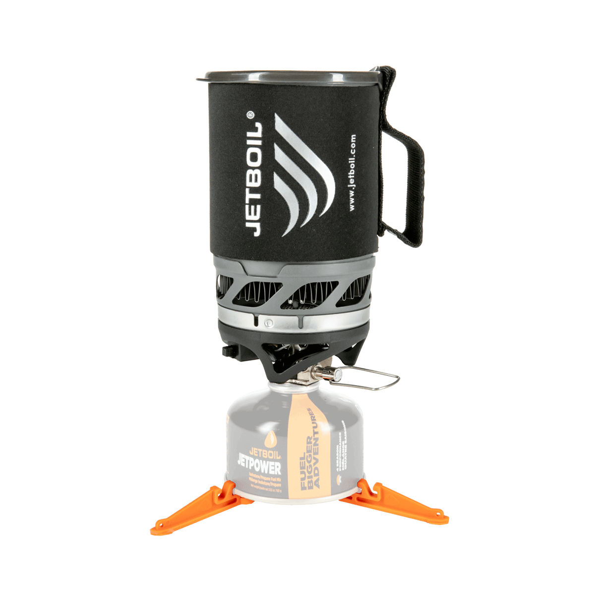 Jetboil MicroMo Carbon on stove