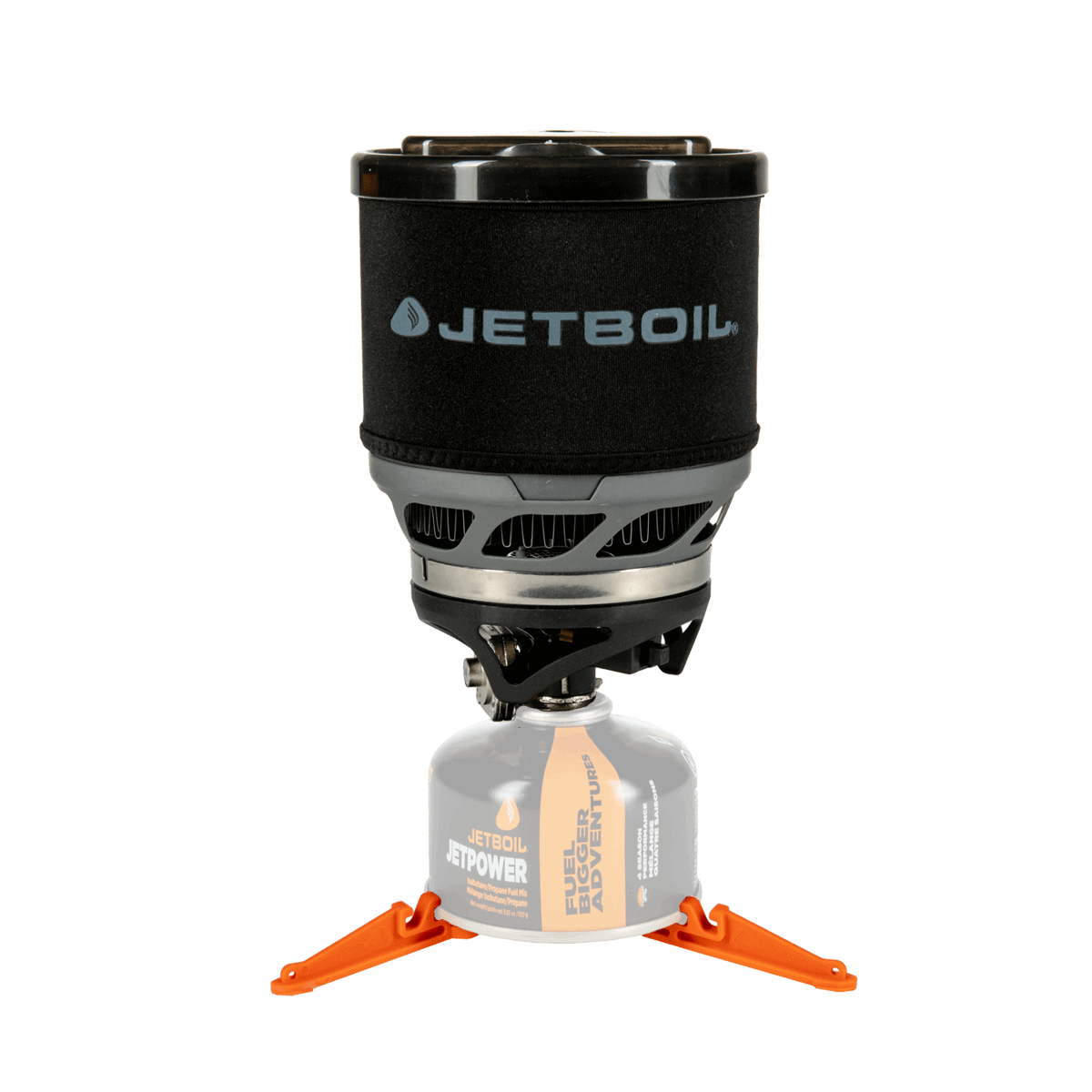 Jetboil MiniMo Carbon set up