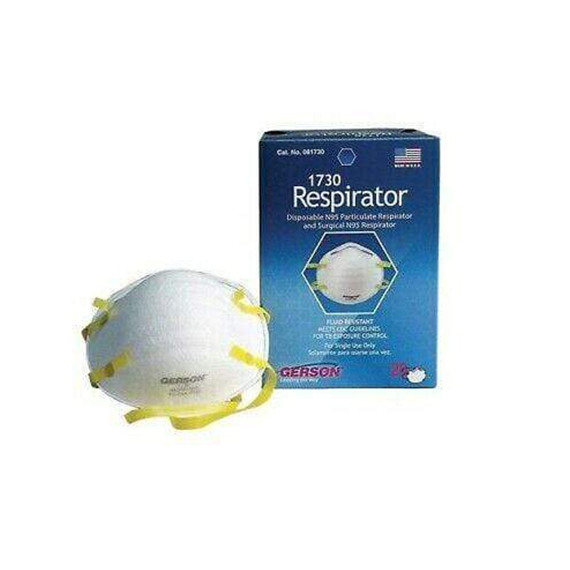 GERSON N95 Particulate Respirator Pack of 20