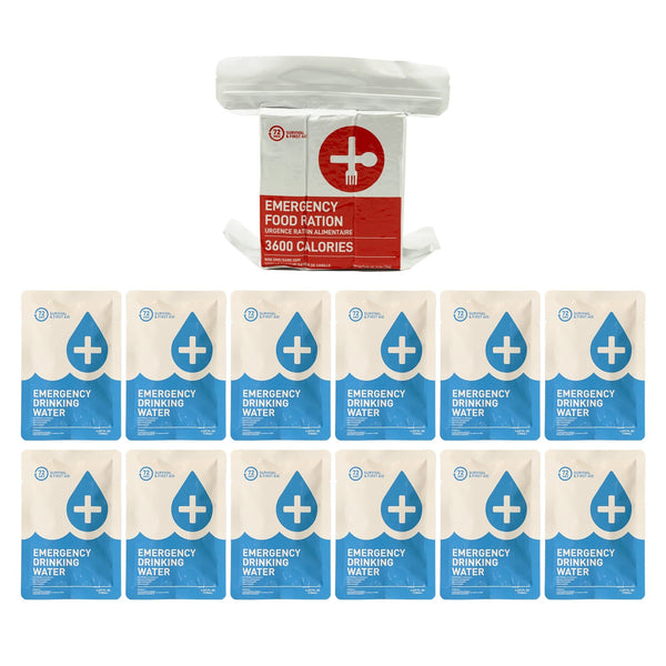 1 Person Food and Water Refill Kit